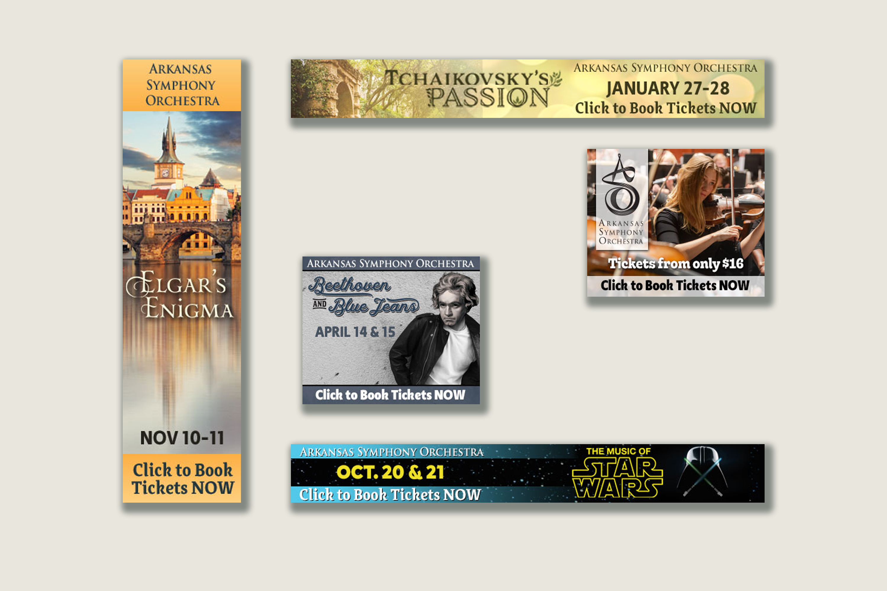 <span>Graphic Design, Event, Large Format, Other</span>Web Ads