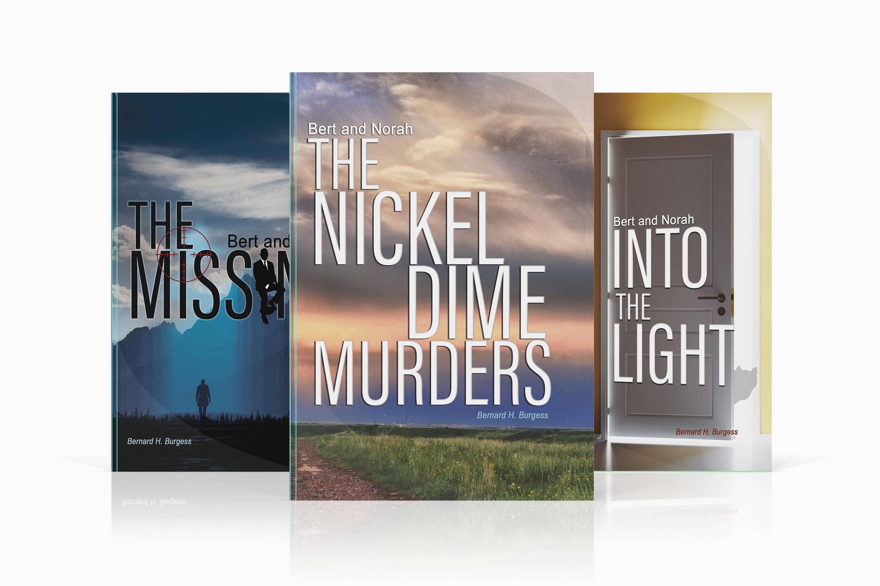 Bert and Norah Mystery Series Book Covers